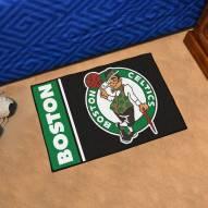 Boston Celtics Uniform Inspired Starter Rug