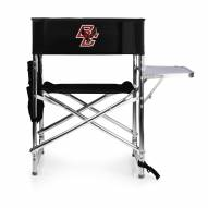 Boston College Eagles Black Sports Folding Chair
