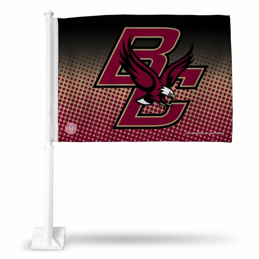 Boston College Eagles College Car Flag