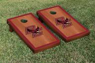 Boston College Eagles Rosewood Stained Border Cornhole Game Set