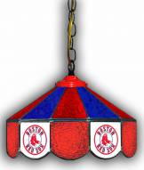 "Boston Red Sox 14"" Glass Pub Lamp"