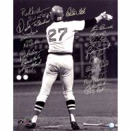 """Boston Red Sox 1975 Team Signed """"Fisk Wave"""" Signed 16"""" x 20"""" Photo"""