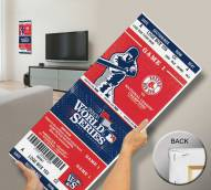 Boston Red Sox 2013 World Series Mega Ticket Canvas Art