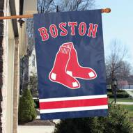 Boston Red Sox Appliqué 2-Sided Banner Flag