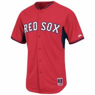 Boston Red Sox Authentic Home Batting Practice Baseball Jersey