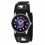 Boston Red Sox MLB Black Rookie Kids Watch