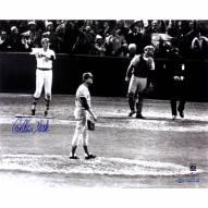 "Boston Red Sox Carlton Fisk Signed 16"" x 20"" Photo"