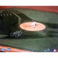 """Boston Red Sox Curt Schilling 2004 World Series Pitching Signed 16"""" x 20"""" Photo"""