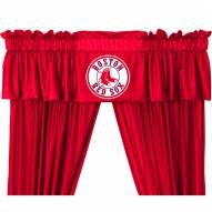 Boston Red Sox Curtain Valance