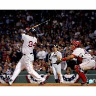 """Boston Red Sox David Ortiz Swing vs Angels 16"""" x 20"""" Photo"""