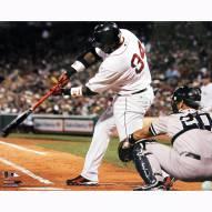 "Boston Red Sox David Ortiz Swing vs Yankees Signed 16"" x 20"" Photo"