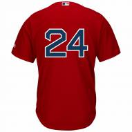 Boston Red Sox David Price Replica Number Only Scarlet Alternate Baseball Jersey