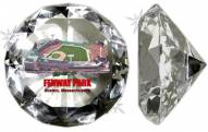 Boston Red Sox Fenway Park Crystal Diamond Paperweight