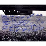 "Boston Red Sox ""Fenway Park"" Kell/Rice/Lonborg/George Scott/Tiant/Torrez/Boyd Signed 16"" x 20"" Photo"