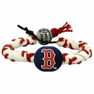 Boston Red Sox Frozen Rope Baseball Bracelet