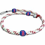 Boston Red Sox Frozen Rope Baseball Necklace