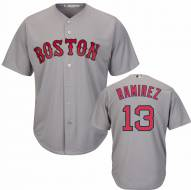Boston Red Sox Hanley Ramirez Replica Road Baseball Jersey