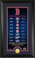 Boston Red Sox Legacy Supreme Bronze Coin Panoramic Photo Mint