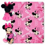 Boston Red Sox Minnie Mouse Throw Blanket