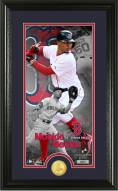Boston Red Sox Mookie Betts Supreme Bronze Coin Photo Mint