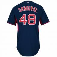 Boston Red Sox Pablo Sandoval Authentic Road Batting Practice Baseball Jersey