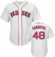 Boston Red Sox Pablo Sandoval Replica Home Baseball Jersey