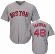 Boston Red Sox Pablo Sandoval Replica Road Baseball Jersey