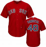 Boston Red Sox Pablo Sandoval Replica Scarlet Alternate Baseball Jersey