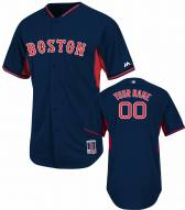 Boston Red Sox Personalized Authentic Road Batting Practice Baseball Jersey