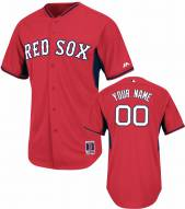 Boston Red Sox Personalized Authentic Batting Practice Baseball Jersey