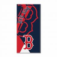 Boston Red Sox Puzzle Beach Towel