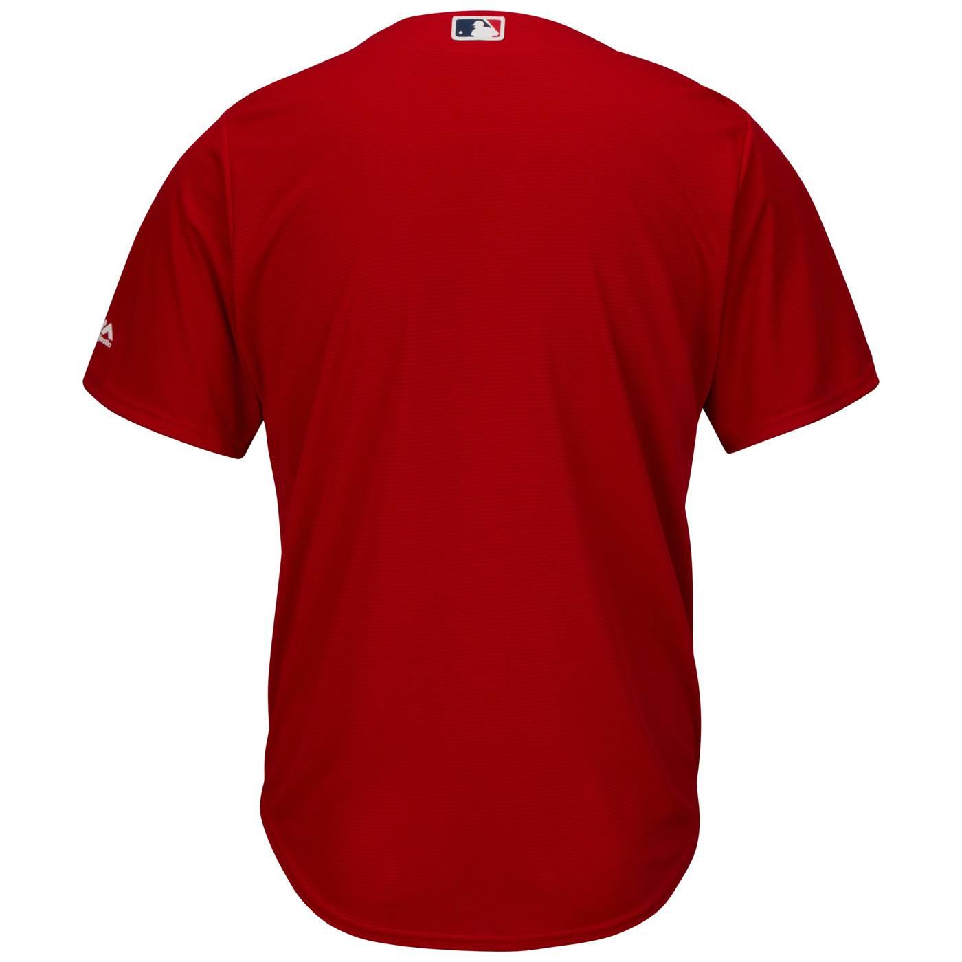 Boston Red Sox Replica Scarlet Alternate Baseball Jersey