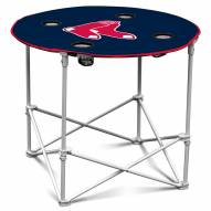 Boston Red Sox Round Folding Table