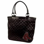 Boston Red Sox Sport Noir Quilted Tote