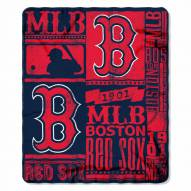 Boston Red Sox Strength Fleece Blanket