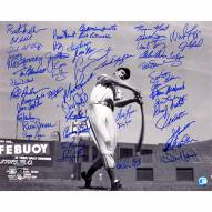 """Boston Red Sox """"Ted Williams"""" 50 Signatures Signed 16"""" x 20"""" Photo"""