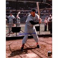 """Boston Red Sox Ted Williams Batting Stance Signed 16"""" x 20"""" Photo"""
