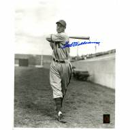 """Boston Red Sox Ted Williams Black & White Signed 16"""" x 20"""" Photo"""