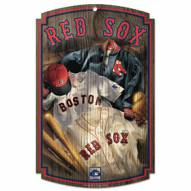 "Boston Red Sox ""Throwback"" Wood Sign"