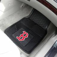 Boston Red Sox Vinyl 2-Piece Car Floor Mats