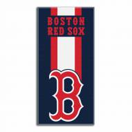 Boston Red Sox Zone Read Beach Towel