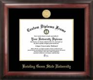 Bowling Green State Falcons Gold Embossed Diploma Frame