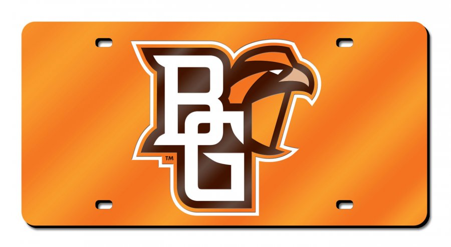 Bowling Green State Falcons Laser Cut License Plate
