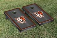 Bowling Green State Falcons Onyx Stained Border Cornhole Game Set