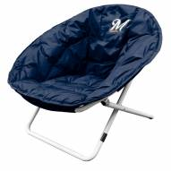 Milwaukee Brewers MLB Sphere Chair