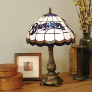 Milwaukee Brewers MLB Stained Glass Table Lamp