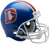 Riddell Denver Broncos 1975-96 Authentic Throwback NFL Football Helmet - Full Size