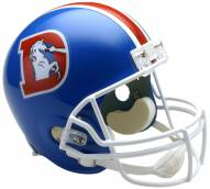 Riddell Denver Broncos 1975-96 Deluxe Replica Throwback NFL Football Helmet
