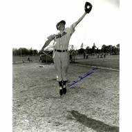 "Brooklyn Dodgers Duke Snider Catching Signed 16"" x 20"" Photo"