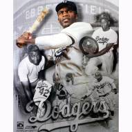 "Brooklyn Dodgers Jackie Robinson Legends Composite Signed 16"" x 20"" Photo"